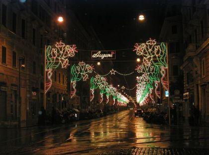 Auguri Street Rome