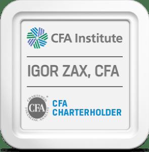 CFA Charter Igor Zaks (Zax)
