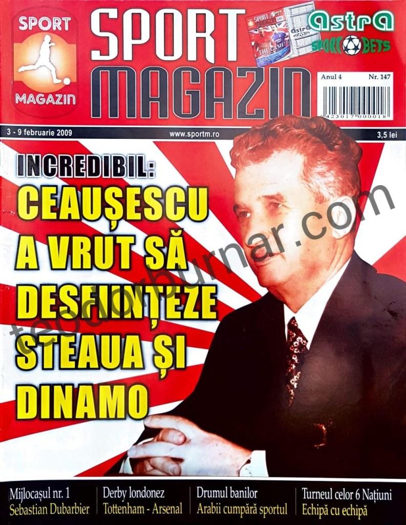 Teodor Burnar portofoliu Sport Magazin_Coperta-ink