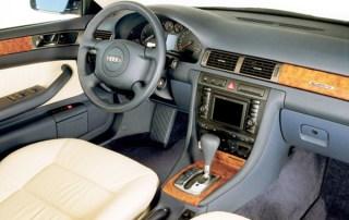 Audi A6 C5 interior
