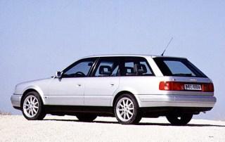 Audi A6 C4 Avant rear