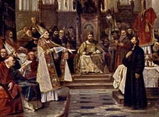 Vaclav Brozik: John Huss at the Council of Constance, 1883