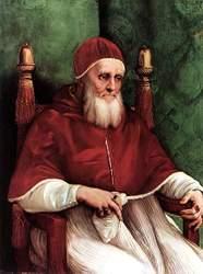 Rafael: 'Retrato do Papa Júlio II', 1511