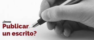 ¿Deseas publicar un escrito?
