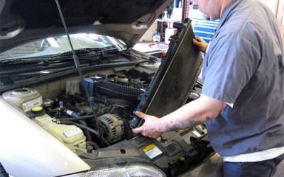 الراديتور او منظومة تبريد محرك السيارة