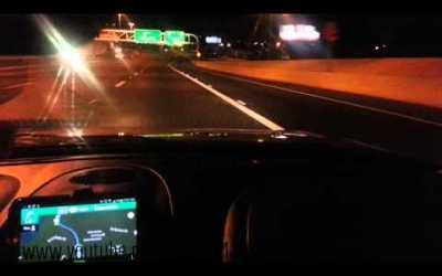 قدرة السياقة في الليل في السويد
