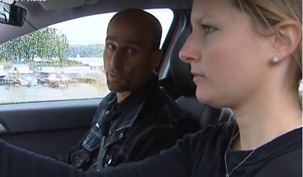 فحص السياقة العملي في السويد, هكذا يجري بالفيديو