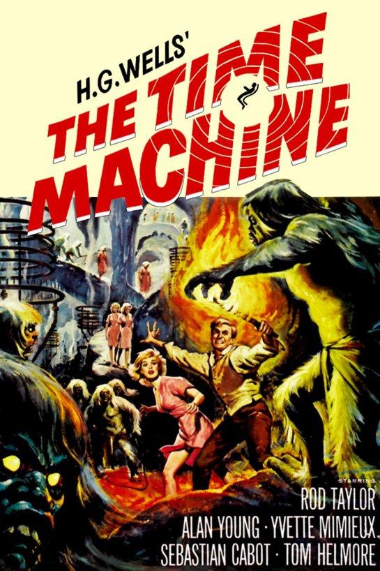 Afiche The time machine