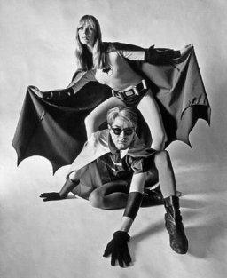 With Nico from The Velvet Underground in 19