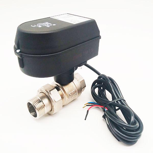 Шаровый кран с электроприводом Honeywell-Resideo HAV20 3/4″ SPDT, 220В фото