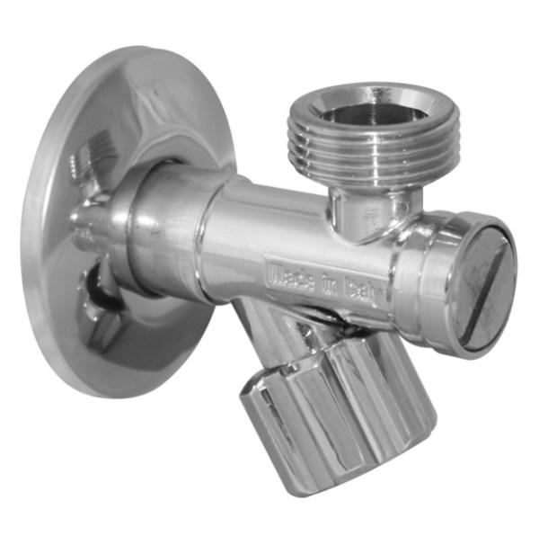 Кран вентильный VA Albertoni B144 1/2″ x 3/4″ с фильтром фото