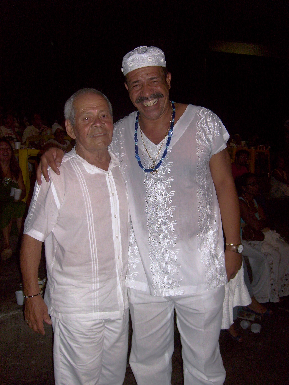 Tião Casimiro e Ivo de Carvalho - 100 anos de Umbanda - Foto:Sylvia Arcuri