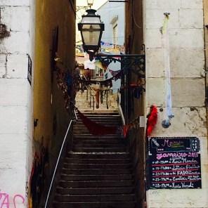 las calles de Lisboa