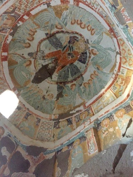 frescos de las Iglesias de las cuevas