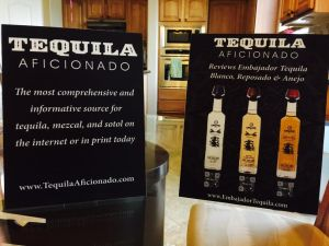 table stands, sabor latino, embajador tequila, tequila aficionado