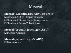 Slide4 Mezcal, Brands of Promise