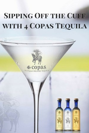 Sipping Off the Cuff | 4 Copas Tequila Anejo http://wp.me/p3u1xi-4Vh
