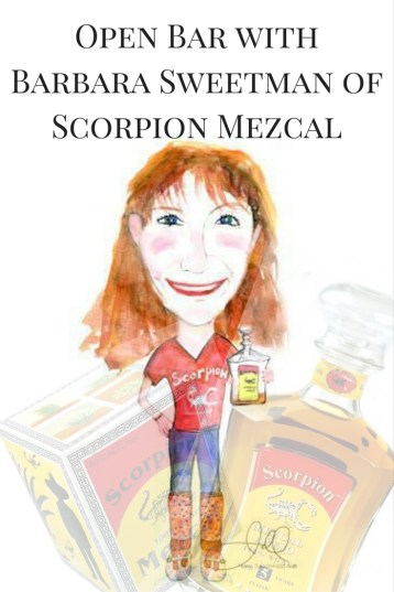 Open Bar | Barbara Sweetman of Scorpion Mezcal http://wp.me/p3u1xi-5aH