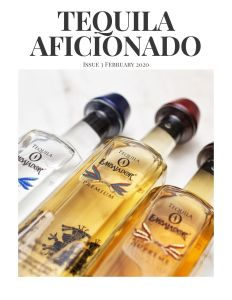 Book Cover: Tequila Aficionado Magazine: February 2020