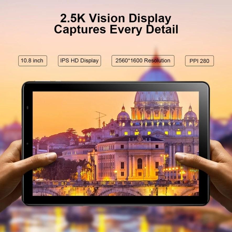 Tablet Chuwi Hi9+ Helio X27 Deca Core Android 8.0 Pantalla 2K