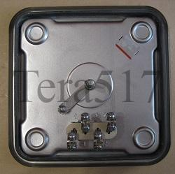 Конфорка для плит EGO 220х220мм 2600W 400V 11.22454.238