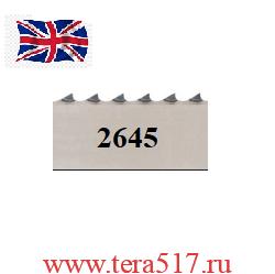 Полотно ленточной пилы для мяса 2645х16х4tpi