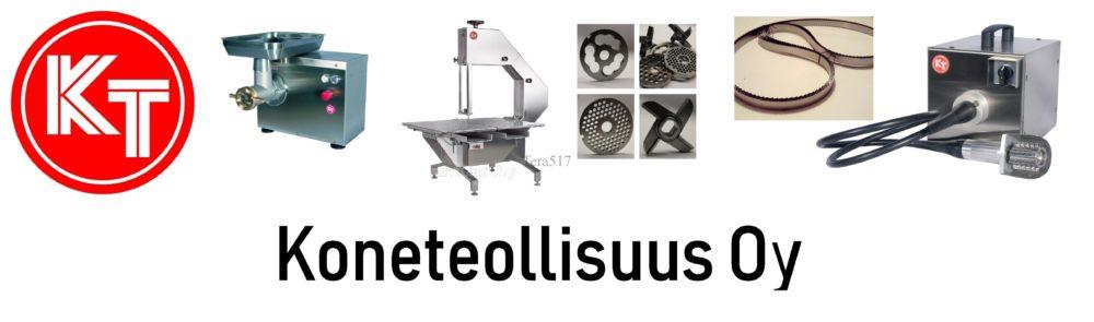 Koneteollisuus Oy КТ оборудование расходные материалы, ножи и решетки, полотно ленточной пилы.