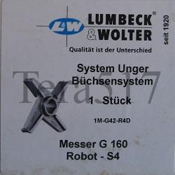 Нож Unger Lumbeck & Wolter G 160 Robot S 4
