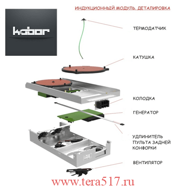 Индукционный модуль плиты KOBOR I9
