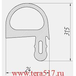 Уплотнитель Абат ПКА6-1/1ПМ ПКА6-1/1ВМ ПКА6-1/1ПП ПКА6-1/1ВП 2007-2010