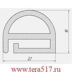 Уплотнитель Абат ПКА10-1/1В ПКА10-1/1П ПКА10-1,5/1П ПКА10-1/,5В
