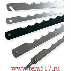 Нож рамный 285 мм штифт 3х6 (CV, 13 мм, 0.5 мм) для хлеборезки