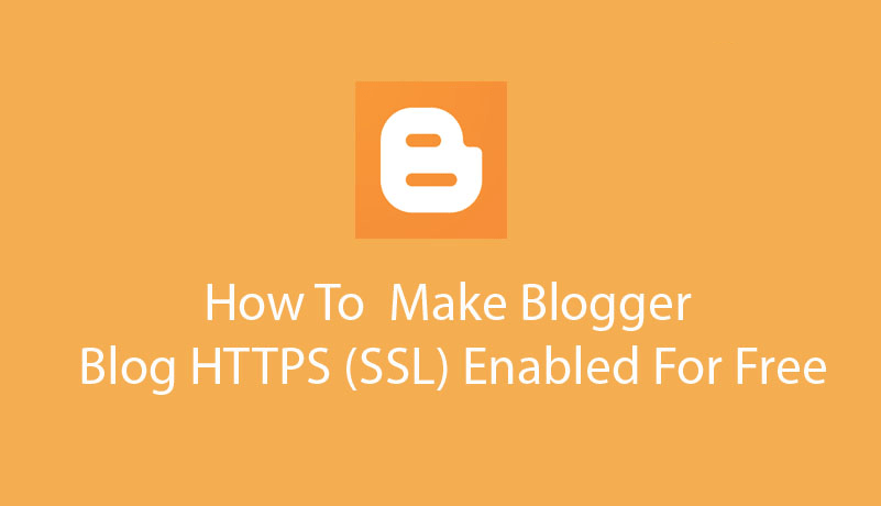 How to enable https blogger custom domain
