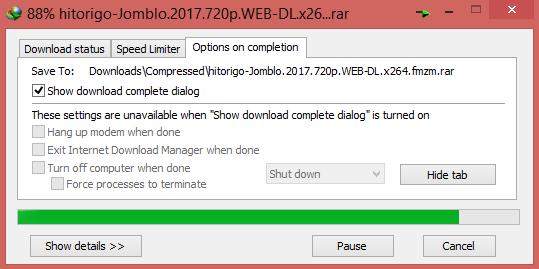 Membuat IDM otomatis shutdown