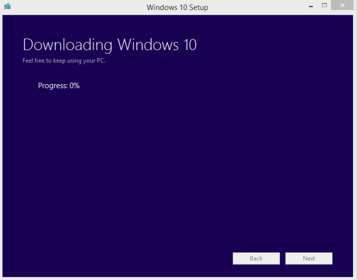 Cara Upgrade Windows 10