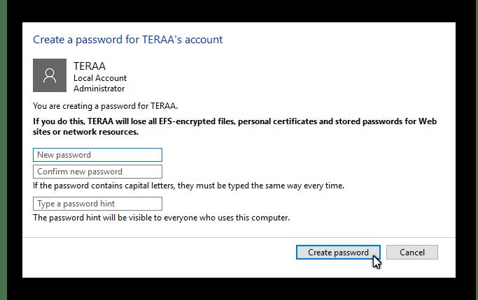 Menghapus passwod user account Windows 10