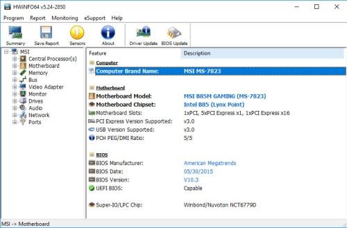 Mengetahui spesifikasi komputer dengan Hardware Monitor