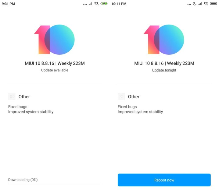 Download MIUI 10 8.8.16