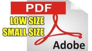 Edit ukuran file PDF jadi kecil