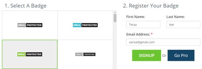 Melindungi Konten Blog ke DMCA