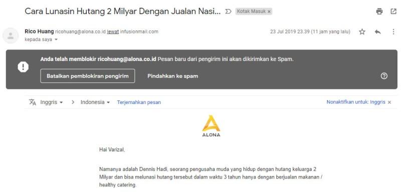Cara Blokir Alamat Email Di Google Mail Teraa Net