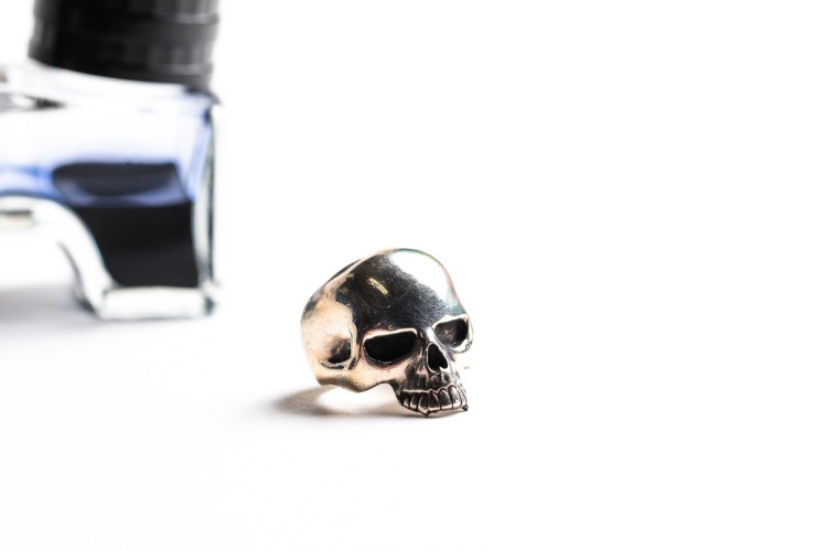 THE GREAT FROG Skull Ring-0493