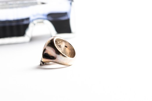 THE GREAT FROG Skull Ring-0497