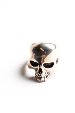 THE GREAT FROG Skull Ring-0499