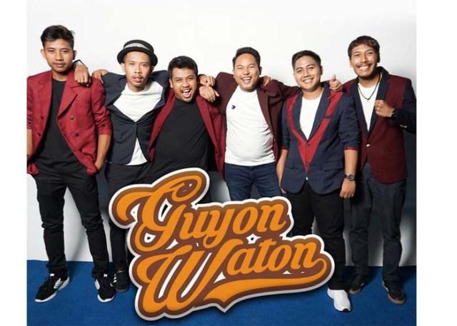 Group Band Guyon Waton, Berawal Dari Iseng Hingga Menjadi Terkenal
