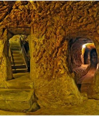 kota bawah tanah derinkuyu