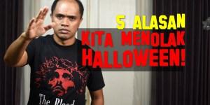 5 alasan kita menolak halloween