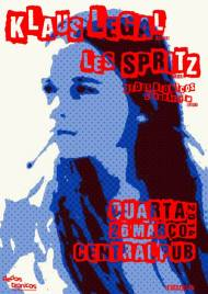 cartaz les spritz klaus legal bragança