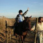 Sesión de Terapia con caballo