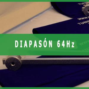 Diapason 64 hercios